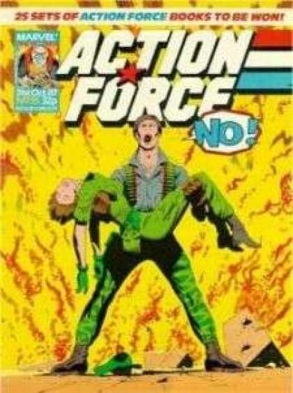 Action Force 35 - Marvel - No - Woman - Fire - Sand