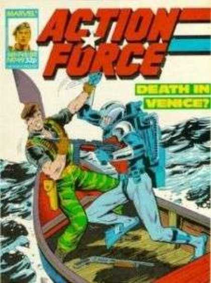 Action Force 49 - Death In Venice - Camoflage - Ocean - Boat - Scuba Gear
