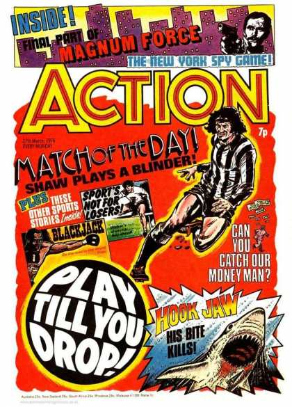 Action 7 - Magnum - Force - New York Spy Game - Match Of The Day - Soccer