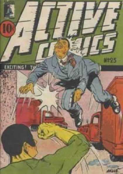 Active Comics 25 - Action - Crime - Transport - Superheroes - Supervillain