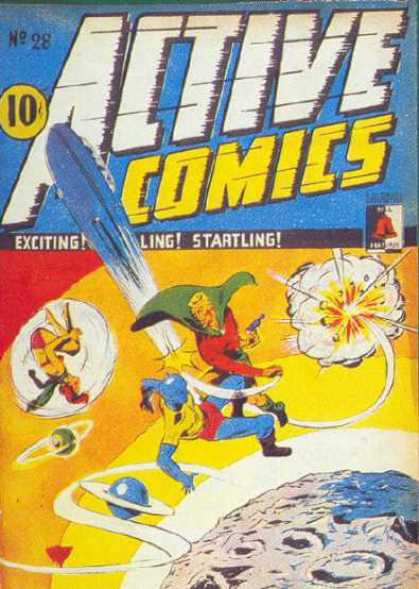 Active Comics 28 - No28 - 10c - Exciting - Startling