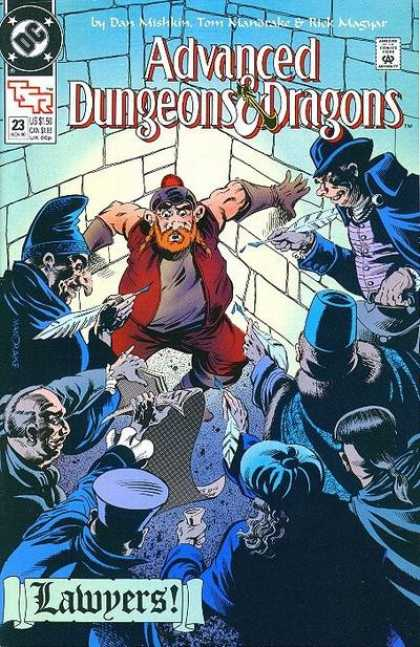 Advanced Dungeons & Dragons 23