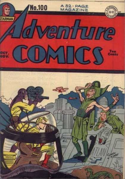 Adventure Comics 100 - Jack Kirby, Joe Simon