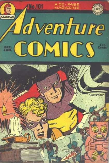 Adventure Comics 101 - Candle - Starman - A Superman Publication - Books - Costumes - Jack Kirby