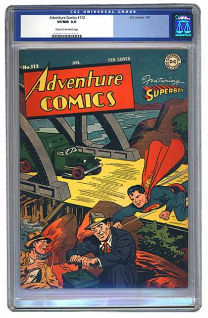 Adventure Comics 112 - Superboy - Superman - Cgc Universal - Dc - No112 Jan - George Roussos