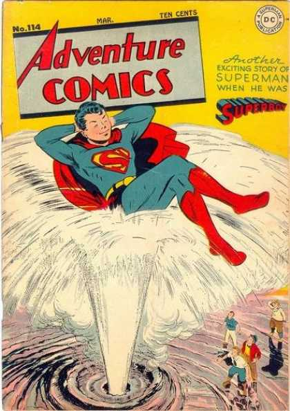 Adventure Comics 114 - Superboy - Superman - No 114 - March Issue - Dc