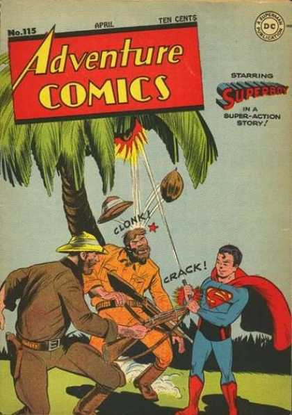 Adventure Comics 115 - Coconut - Crack - Superboy - George Roussos