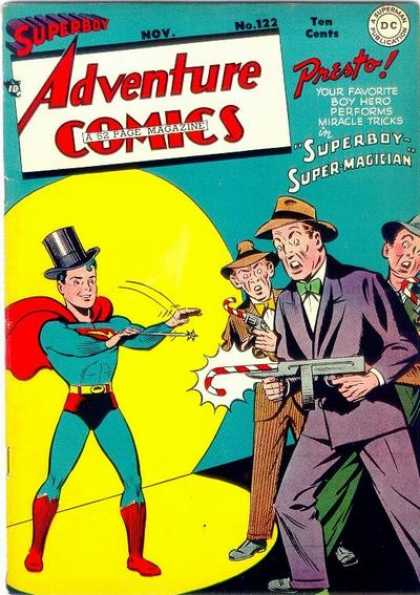 Adventure Comics 122 - Candy Cane - Superboy - George Roussos