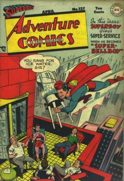 Adventure Comics 127 - Water - Superboy - Bellboy - George Roussos