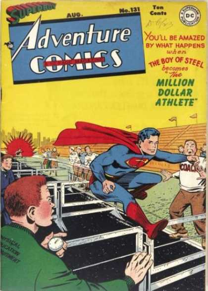 Adventure Comics 131 - George Roussos