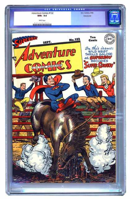 Adventure Comics 132 - Superboy - Horse - Superman