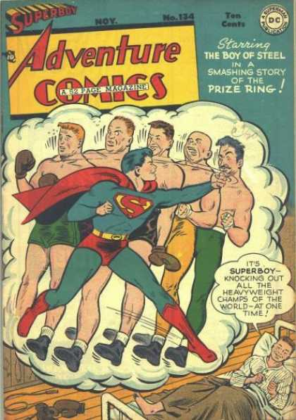 Adventure Comics 134 - George Roussos