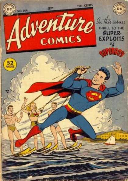 Adventure Comics 144 - Superboy - Water
