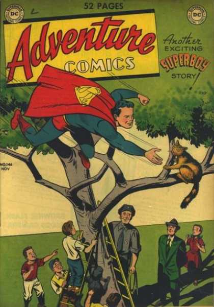 Adventure Comics 146 - Superboy - Cat