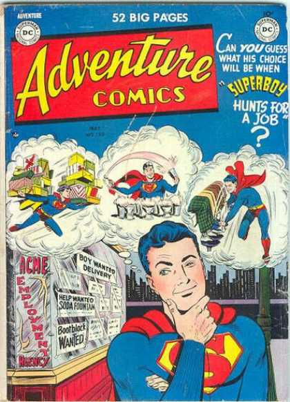 Adventure Comics 152 - Superboy - Shoe Shining - Comic - Dc - 52 Big Pages