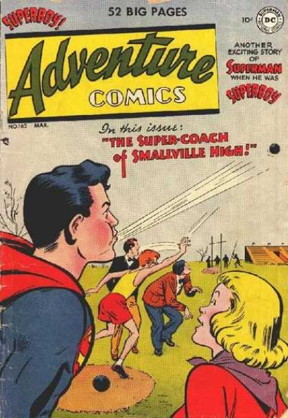 Adventure Comics 162 - Superboy - Superman - Dc - National Comics - Mar