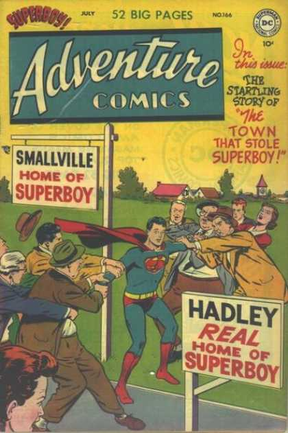 Adventure Comics 166 - Hadley - Superboy - Smallville - Superman