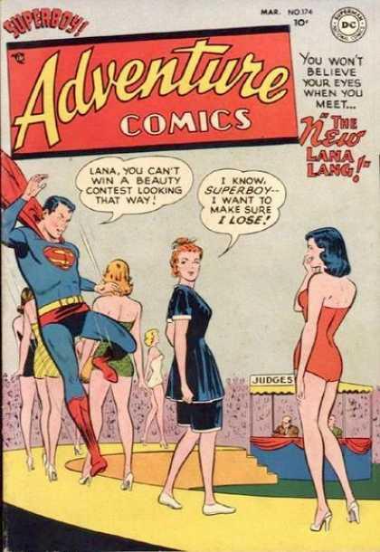 Adventure Comics 174 - Lana Lang - Superman - Superboy - Judges