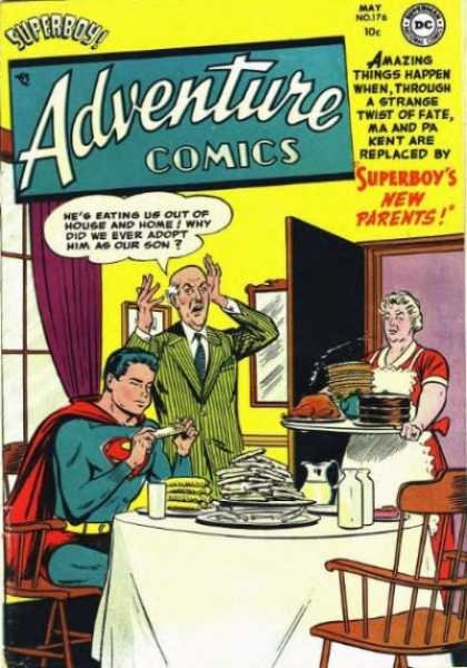 Adventure Comics 176 - Superboy