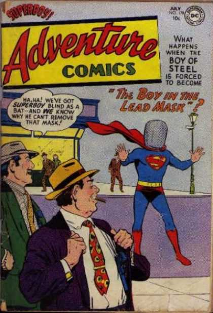 Adventure Comics 178 - Superboy - Mask - Lead