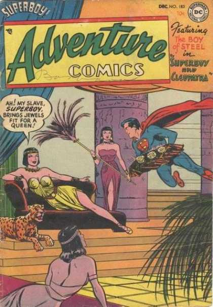 Adventure Comics 183 - Superboy - Cleopatra - Superman - Queen - Egypt