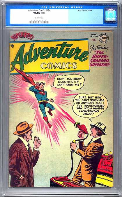 Adventure Comics 194 - Superboy - Superman