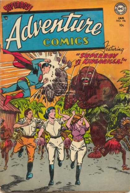 Adventure Comics 196 - Kingorilla