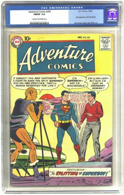 Adventure Comics 255 - Superman - Clark Kent - Superboy - Curt Swan