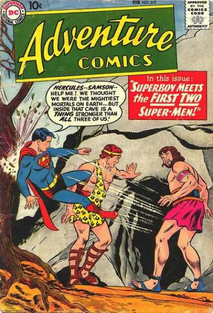 Adventure Comics 257 - Cave - Curt Swan