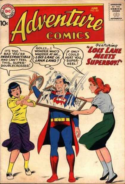 Adventure Comics 261 - Superboy - Lois Lane - Lana Lang - Curt Swan