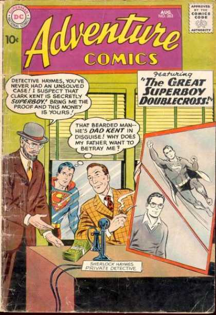 Adventure Comics 263 - Superman - Superboy - Detective - Curt Swan