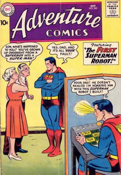 Adventure Comics 265 - Ma Kent - Pa Kent - Superman - Curt Swan
