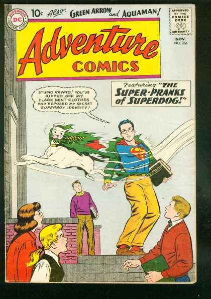 Adventure Comics 266 - Dog - Superman - Superdog - Superboy - Green Arrow - Curt Swan