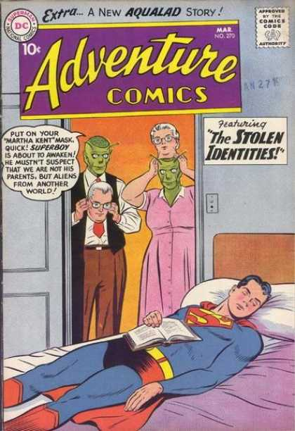 Adventure Comics 270 - Superboy - Aliens - Mask - Superman - Curt Swan