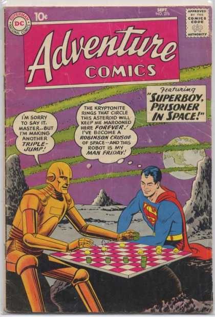 Adventure Comics 276 - Robot - Checkers - Earth - Curt Swan