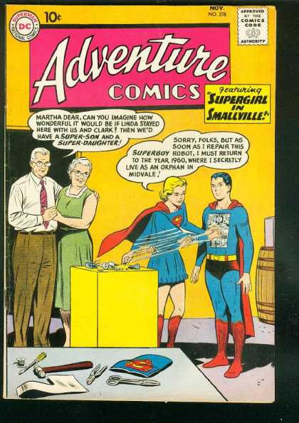 Adventure Comics 278 - Supergirl - Superboy - Curt Swan