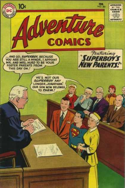 Adventure Comics 281 - Superboy - Curt Swan