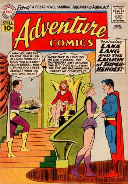 Adventure Comics 282 - Superboy - Lana Lang - Star-boy - Curt Swan