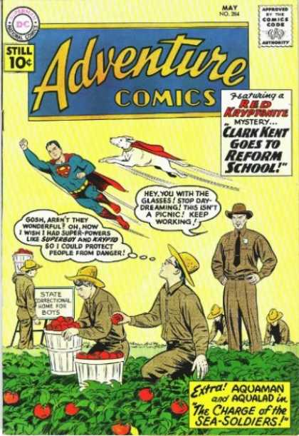 Adventure Comics 284 - Krypto - Superboy - Red Kryptonite - Aquaman - Superdog - Curt Swan