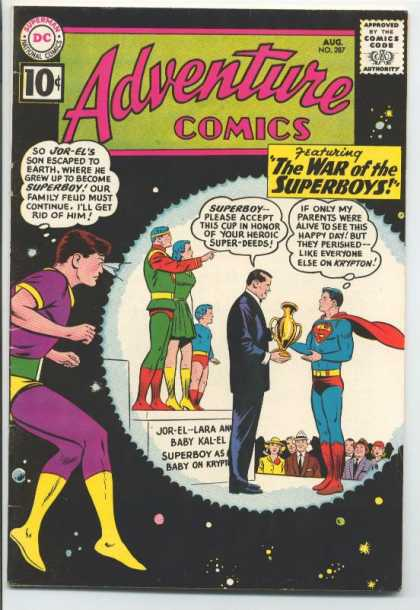 Adventure Comics 287 - Jor-el - Trophy - Curt Swan