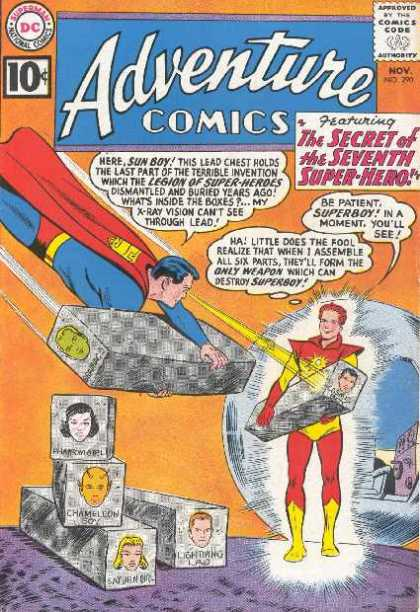 Adventure Comics 290 - Superman - Sun Boy - Lead - Superboy - 10 Cents - Curt Swan