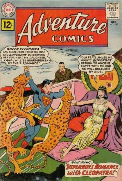 Adventure Comics 291 - Queen - Cleopatra - Leopard - Superman - Curt Swan