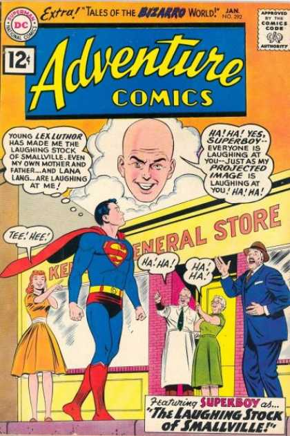 Adventure Comics 292 - Projected Images - Point And Laugh - Lana Is Laughing At Me - In - Curt Swan, Sheldon Moldoff