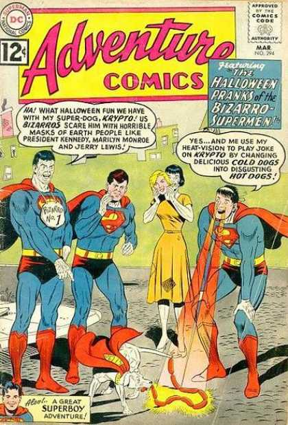 Adventure Comics 294 - Bizarro - Krypto - Superman - Superboy - Dc - Curt Swan