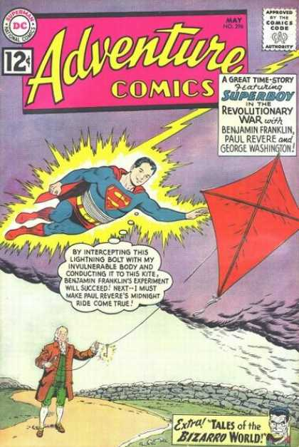 Adventure Comics 296 - Superman - Superboy - Comics Code - Costume - Flash - Curt Swan