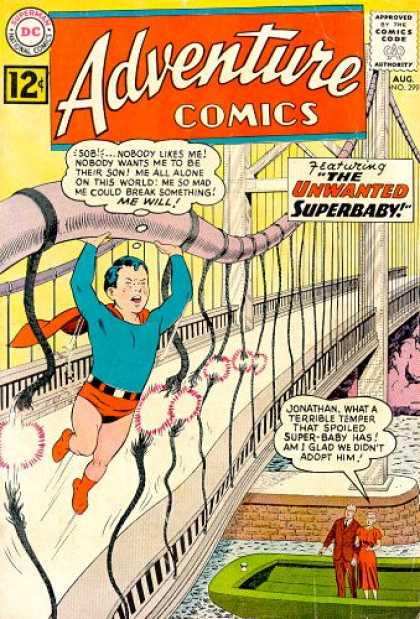 Adventure Comics 299 - Bridge - Boat - Superman - Curt Swan