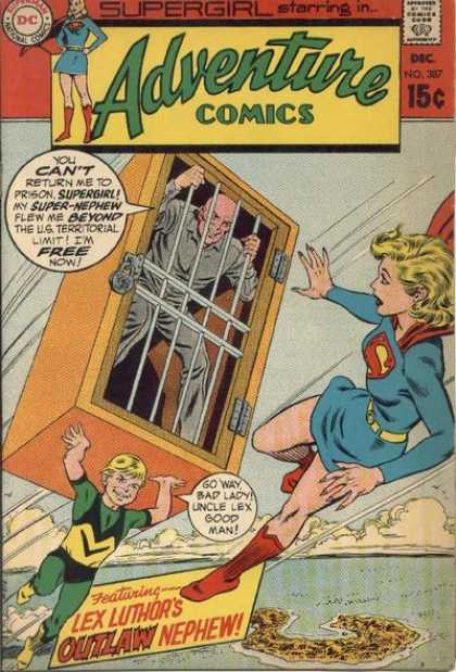 Adventure Comics 387 - Lex Luthor - Supergirl - Curt Swan, Murphy Anderson