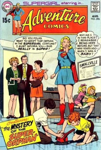 Adventure Comics 396 - Supergirl - Orphanage - Curt Swan, Murphy Anderson