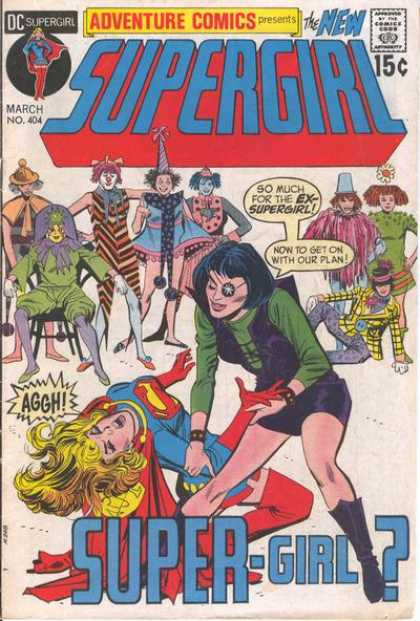 Adventure Comics 404 - Plan - March - Ex-supergirl - Dc - Defeated - Dick Giordano