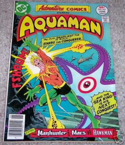 Adventure Comics 451 - Aquaman - Starro - Jim Aparo